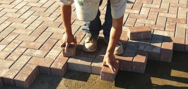 Paver installation services